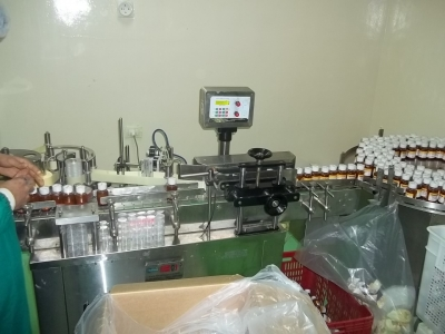 Forming Powder Filling Line